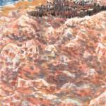 烈日下的沙灘 (48x60cm)