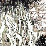 Li Minority's Home (68x136cm)