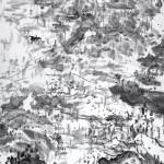 巴山春雨 (108x200cm)