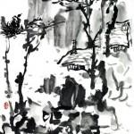 秋高 (68x136cm)