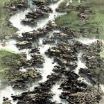 The Last Shoal of Jialing River (108x200cm)